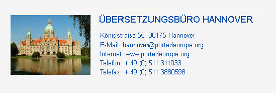 Translation Agency Hanover